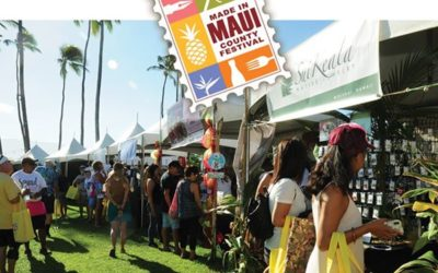 Attend the Made in Maui Festival this Fall 2019