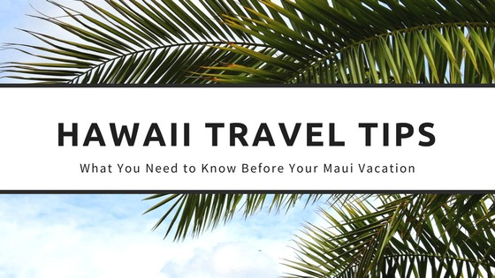 Hawaii Travel Tips – What You Need to Know Before Your Maui Vacation