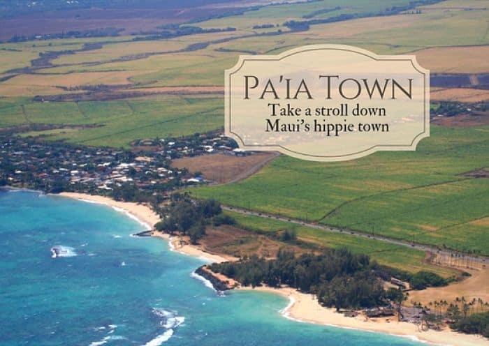 Take a Stroll Down Paia Town