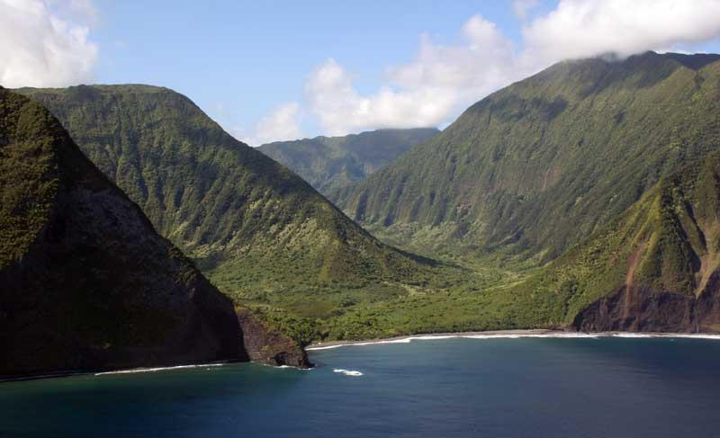 Maui by Air - Molokai Sea Cliffs